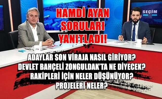 Hamdi Ayan CANLI yayında soruları yanıtladı!