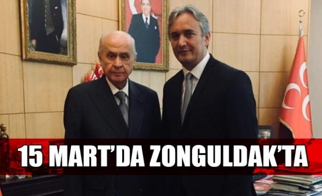 MHP Genel Başkanı Devlet Bahçeli Zonguldak'a geliyor