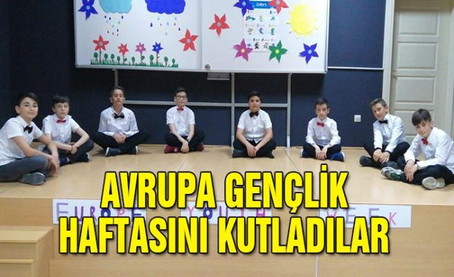 Avrupa Gençlik Haftası'nı kutladılar