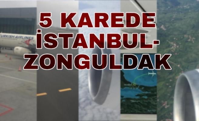 Vatandaşın gözünden İstanbul Zonguldak uçuşu