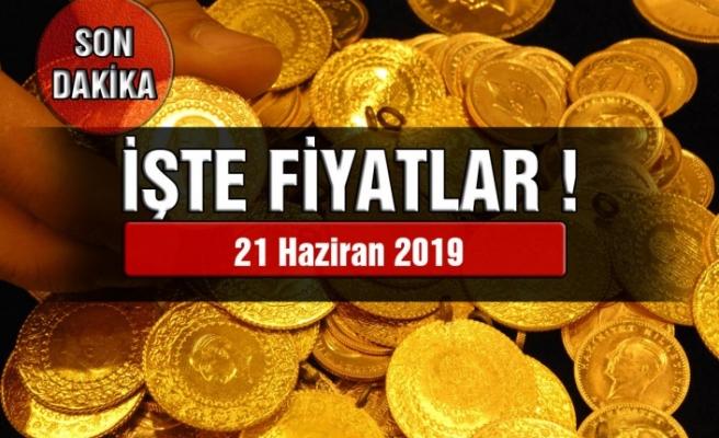 Altın Fiyatları (21 Haziran 2019) Çeyrek Altın,Gram Altın, Tam Altın Fiyatları