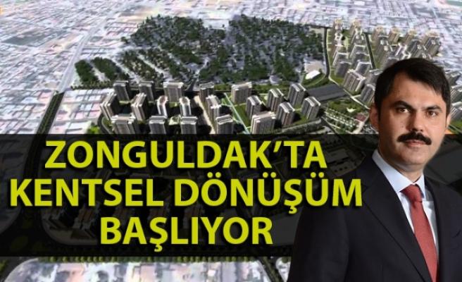 Bakan Kurum'dan Zonguldak açıklaması - Zonguldak baştan kurulacak!