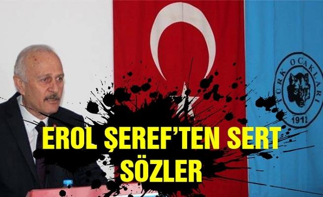 """""""Vah Türkiyem vah…"""" Erol Şeref'ten sert sözler!"""