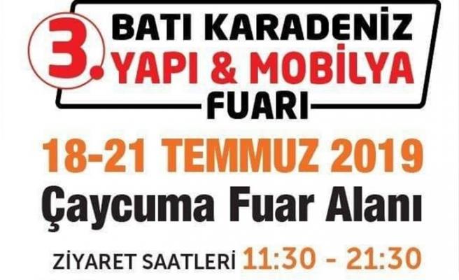 3. Batı Karadeniz Yapı Dekorasyon ve Mobilya Fuarı açılıyor