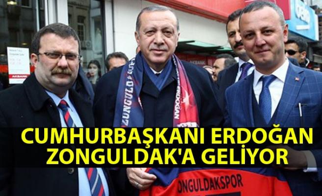 Cumhurbaşkanı Erdoğan Zonguldak'a geliyor