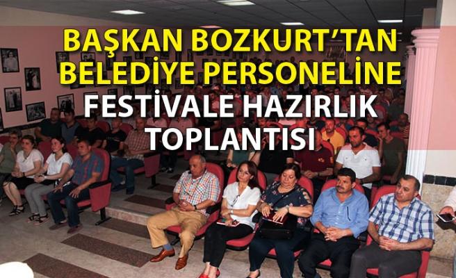 Devrek Belediye Başkanı Çetin Bozkurt personel ile buluştu