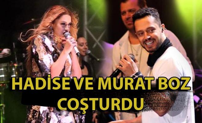Hadise ve Murat Boz Coşturdu