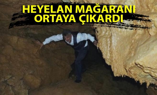 Heyelan Ereğli'de yeni mağarayı ortaya çıkardı