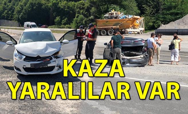 Kaza: Yaralılar var...