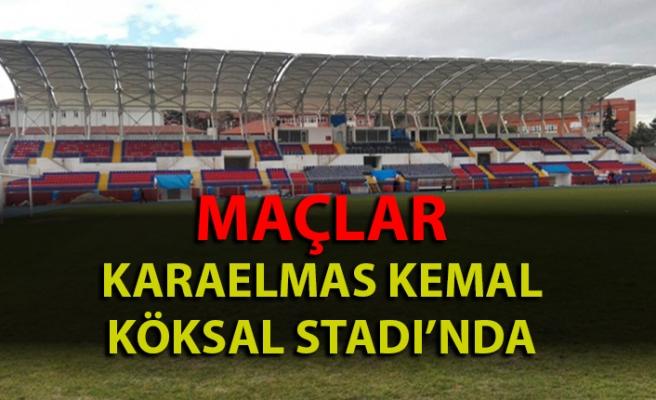 Maçlar Karaelmas Kemal Köksal'da oynanacak