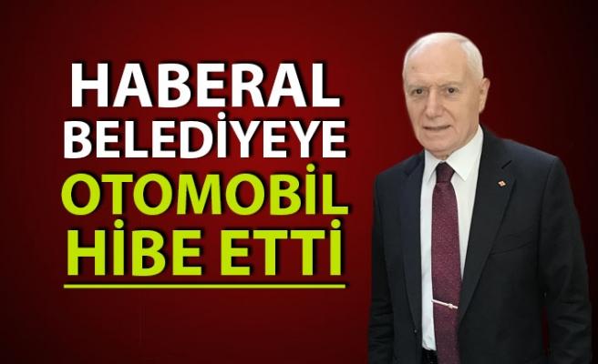 Mehmet Haberal'dan belediyeye otomobil hibesi