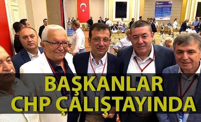 Zonguldak belediye başkanları CHP Yerel Yönetimler Çalıştayı'nda
