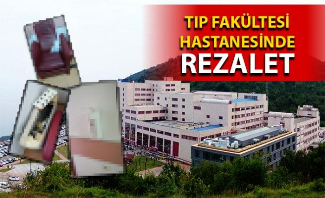 Zonguldak'taki Üniversite Hastanesinde temizlik esasları uygulanmıyor