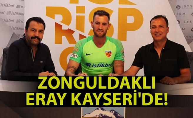 Zonguldaklı Eray Kayseri'de!