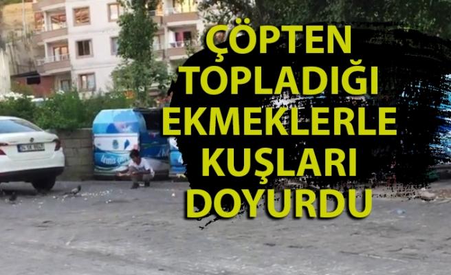 Zonguldaklı çocuktan insanlık dersi