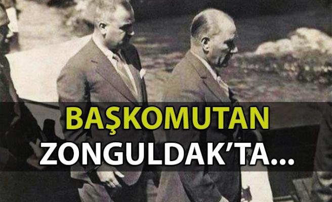 88 yıl önce bugün Gazi Mustafa Kemal Atatürk Zonguldak'taydı...