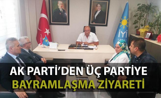 AK Parti'den üç partiye bayramlaşma ziyareti