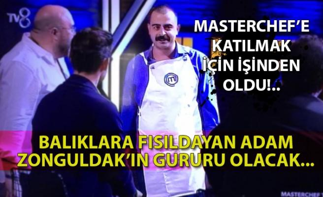 Balıklara fısıldayan adam Zonguldak'ın gururu olacak...