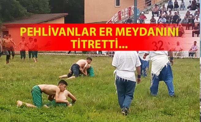 Dağköy'ün 33'üncü başpehlivanı Hamza Köseoğlu oldu...