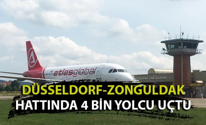 Düsseldorf-Zonguldak hattında doluluk oranı % 90