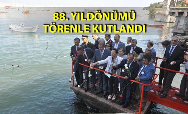 Gazi Mustafa Kemal Atatürk'ün Zonguldak'a ayak basışının 88. yıldönümü törenle kutlandı