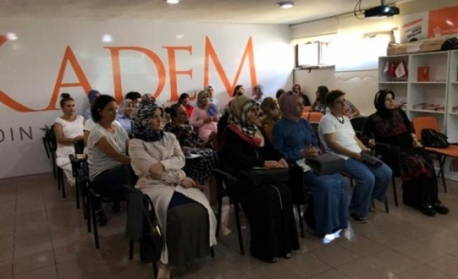KADEM'de ''Sıfır Atık Projesi'' için eğitim toplantısı