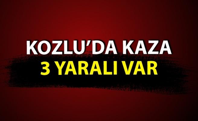 Kozlu'da kaza: 3 yaralı var
