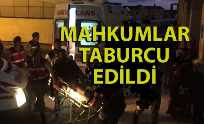 Zehirlenen 28 mahkum Atatürk Devlet Hastanesi'nden taburcu edildi
