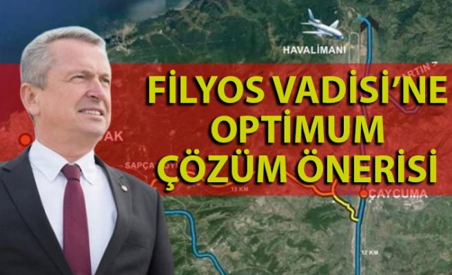 Başkan Kantarcı'dan Filyos Vadisi'ne optimum çözüm