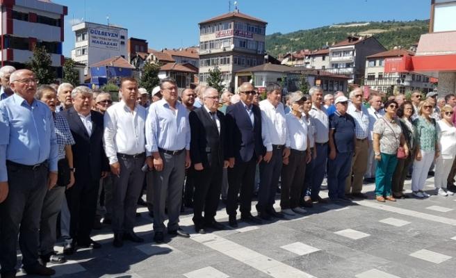 CHP'nin kuruluş yıl dönümü Devrek'te kutlandı