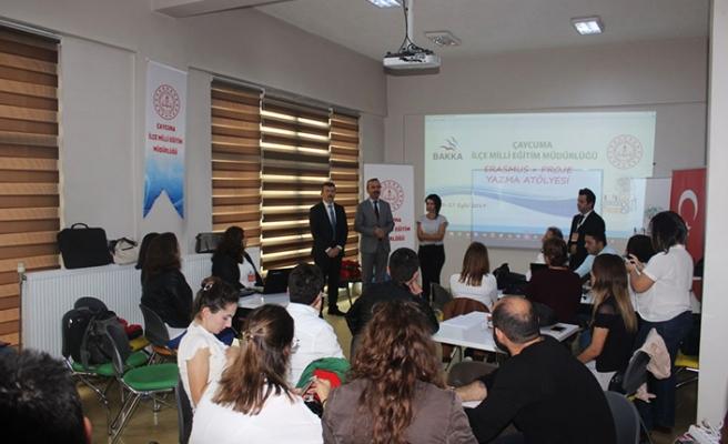 Erasmus+ Proje Yazma Atölyesi sona erdi