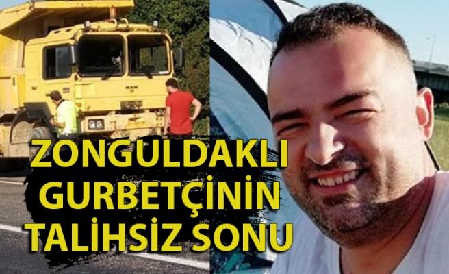 Gurbetden Zonguldak'a döndü, arabanın altında kalıp can verdi