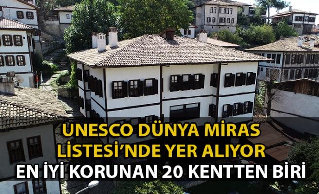 O ilçe UNESCO Listesinde yer alan ve en iyi korunan 20 kentten biri
