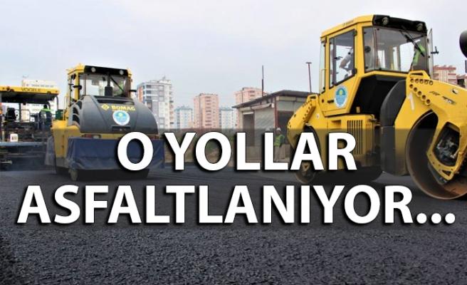 Dikkat! O yollarda yarın asfalt çalışması yapılacak