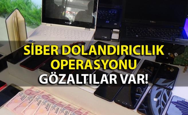 Siber dolandırıcılık operasyonu: Gözaltılar var