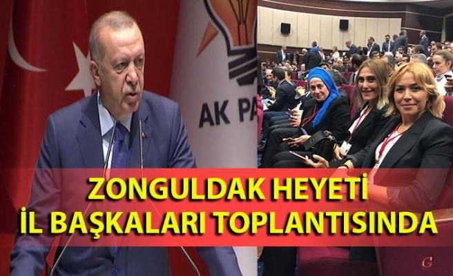 Zongukdak heyeti AK Parti İl Başkanları toplantısında