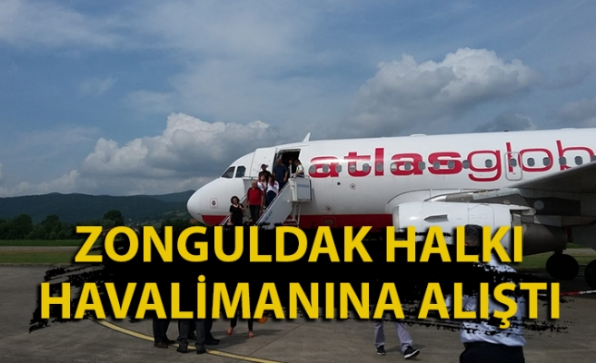 Ağustos ayında Zonguldak uçaklarının dolululuk oranı nasıldı?
