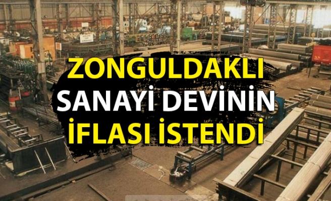Zonguldaktaki büyük sanayinin iflası istendi