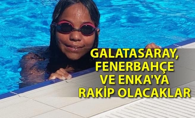 Zonguldaklı yüzücüler devlere rakip olacak