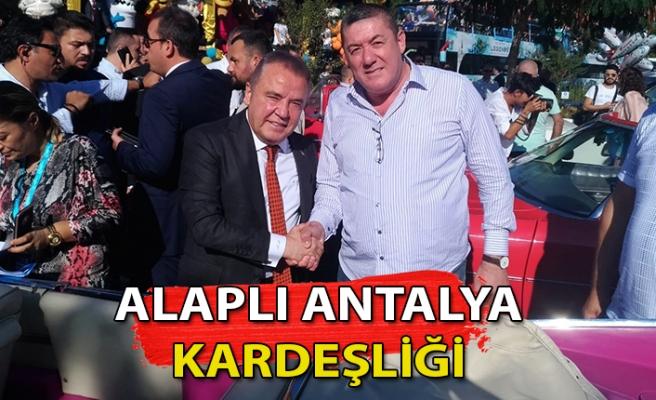 Antalya ile Alaplı kardeş oldu
