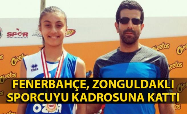 Zonguldaklı sporcu Fenerbahçe kadrosunda