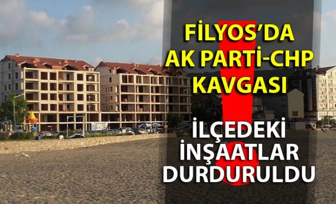 Filyosda AK Parti-CHP kavgası