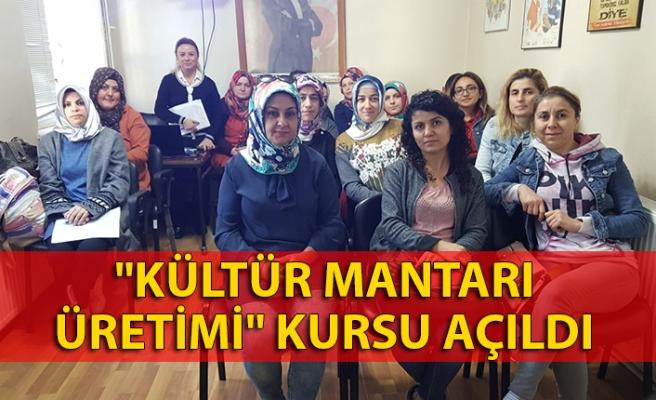 """""""Kültür Mantarı Üretimi"""" kursu başladı"""