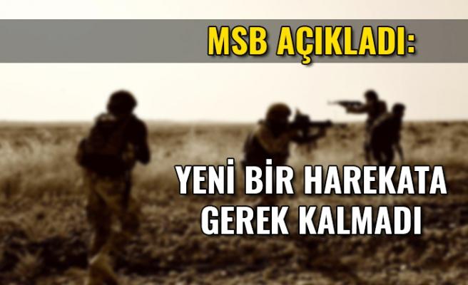 Milli Savunma Bakanlığı'ndan Barış Pınarı Harekatı açıklaması