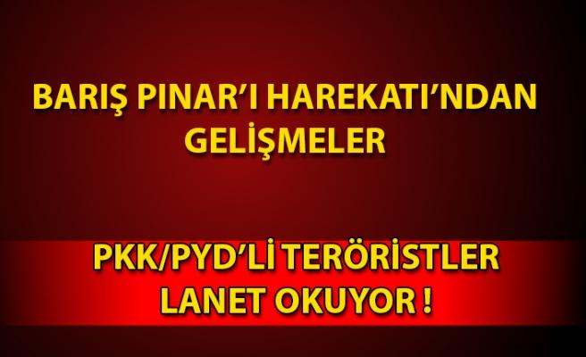PKK/PYD'li teröristler ABD ve Rusya'ya lanet okuyor!