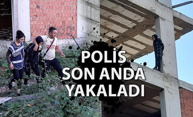 Polis son anda yakaladı