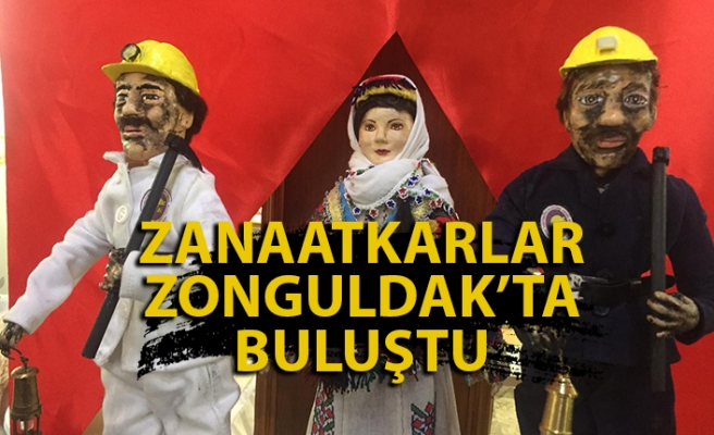 Zanaatkarlar Zonguldak'ta Buluştu