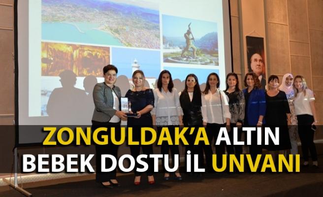 Zonguldak 'Altın Bebek Dostu Şehir' seçildi
