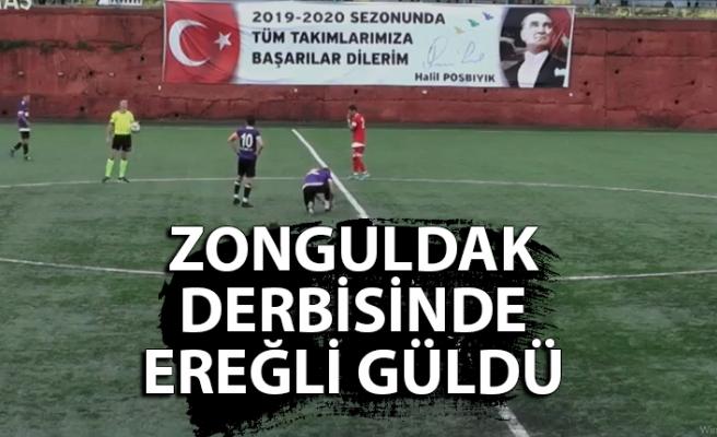 Zonguldak derbisinde Ereğli güldü