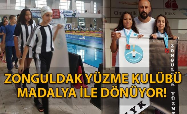 Zonguldak Yüzme Kulübü Madalya ile Dönüyor!